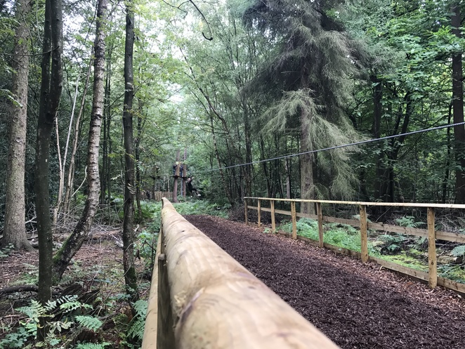 go ape, black park, things to do in london, things to do in buckinghamshire, school holidays, fun for kids, fun for adults, treetop adventure, nets kingdom