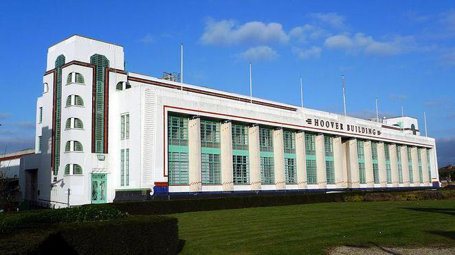Hoover building, tesco, a40, west london, westway, western avenue, art deco