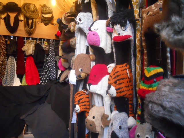 kingston, christmas market, memorial gardens, knitwear