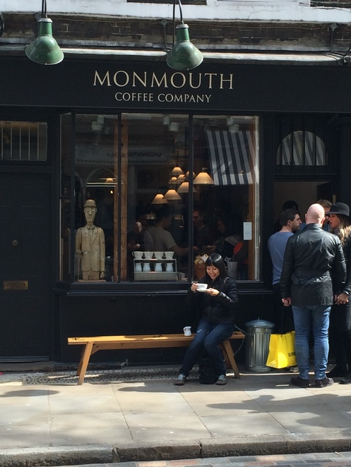 Monmouth, Coffeehouse, cafe, Monmouth Coffee, #coffeeshop, #coffee, #coffeetime, #coffeelover, Borough Market, Coffee in London