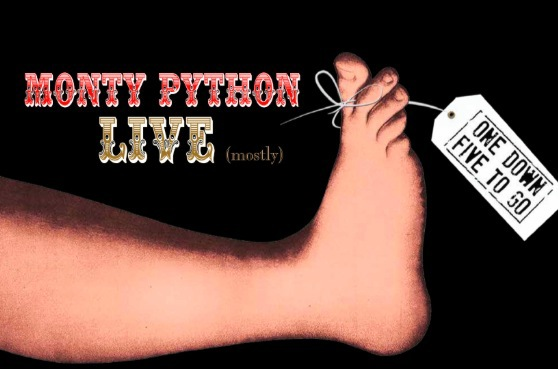monty python live (mostly), one down five to go