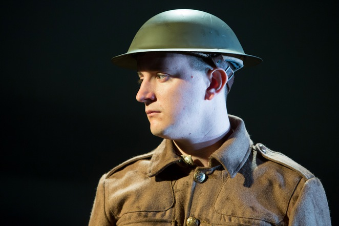 private peaceful, andy daniel, birmingham rep, michael morpurgo, first world war