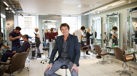 Richard Ward, hairdresser, London, free haircuts, life on a budget
