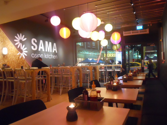 sama asian kitchen, wimbledon