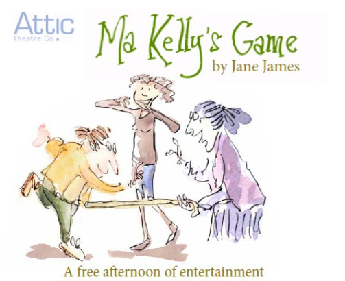 attic theatre company, ma kelly's games