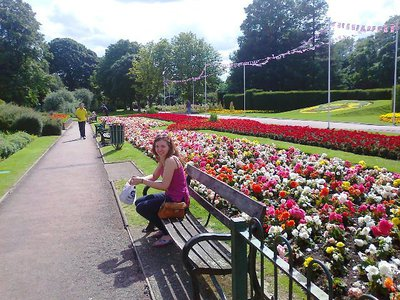 dartford central park, flowers, public gardens