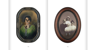 Death A Self Portrait Wellcome Collection family portraits skull faces