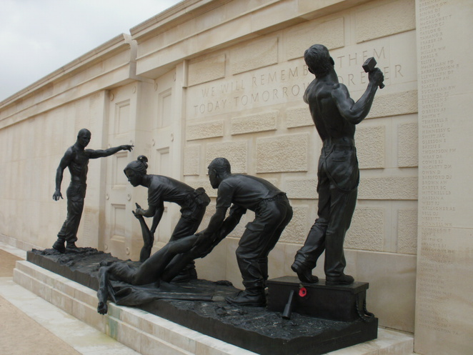 National Memorial Arboretum, Armed Forces Memorial, Staffordshire