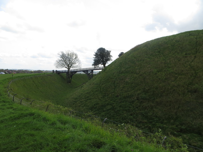 old, sarum, castle
