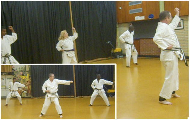 south mitcham Community Centre, karate, btka, british traditional karate association, kata