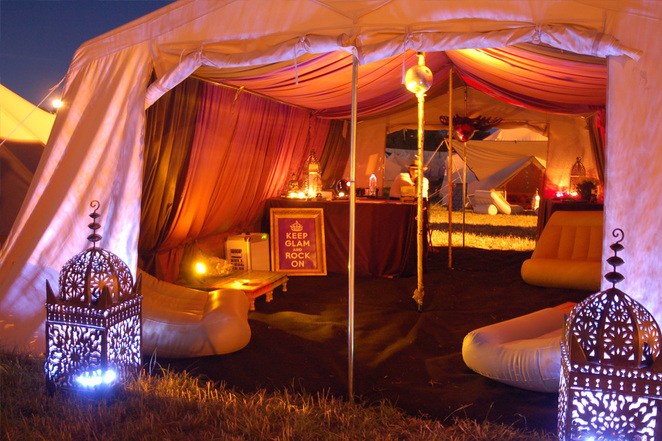 standon calling, camping, bell tent