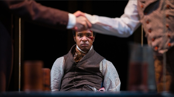 The whip, RSC, swan theatre, plays about slavery, Stratford upon Avon