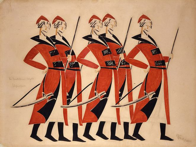 victoria and albert museum, v&a, russian avant garde theatre, war, revolution, and design
