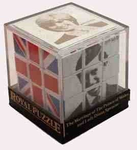 One of my favourite royal mementos - the Royal Rubik's cube