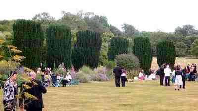 Incongruous with the story: Outside Glyndebourne, by Flickr user HerryLawford