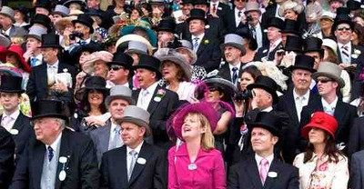 Example of Royal Ascot's Dress Code
