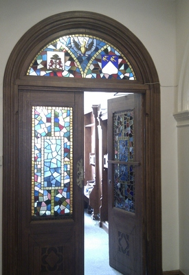 Stained Glass, Avenue House