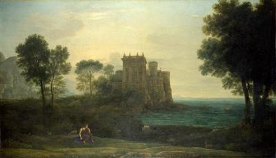 The enchanted castle by Claude