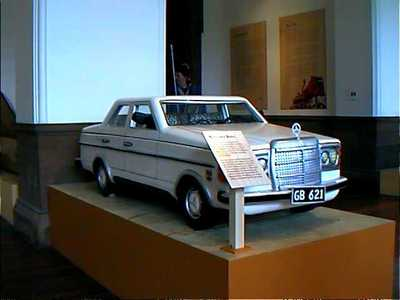 Mercedes Benz Coffin