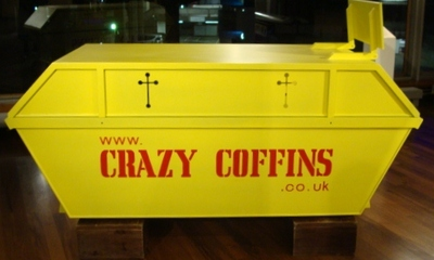 Quirky Coffins at the South Bank