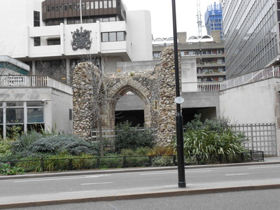 Roman remains, London Wall