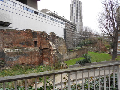 More ruins on the other side of London Wall