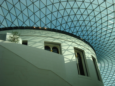 The British Museum's fantastic roof is a big distraction from the excellent collections