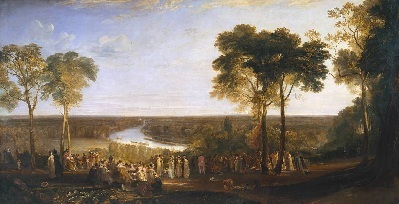 Richmond Hill on the Prince Regent's Birthday 1819