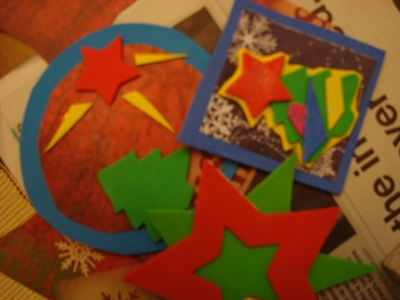 Make your own christmas decorations london Make your own christmas bunting